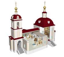 Проект восстановления Воскресенского храма